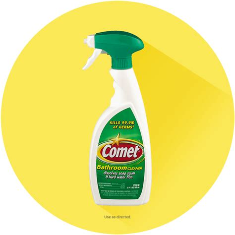 Comet Bathroom Cleaner Spray by Comet 174 Soft Cleanser With