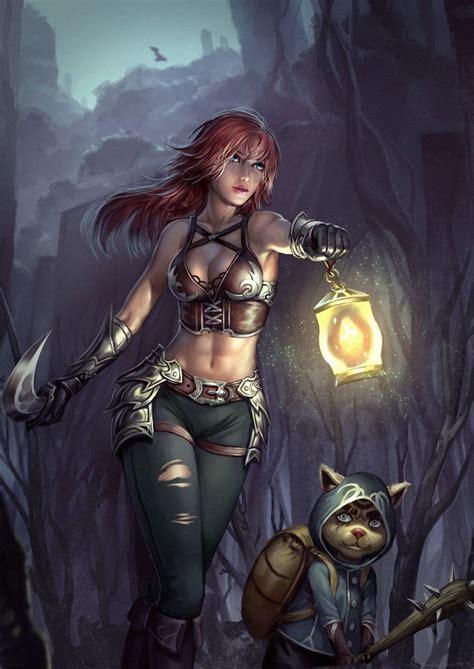 imagenes anime mujeres guerreras pin by ilya bondar on cg girls 2 pinterest lights