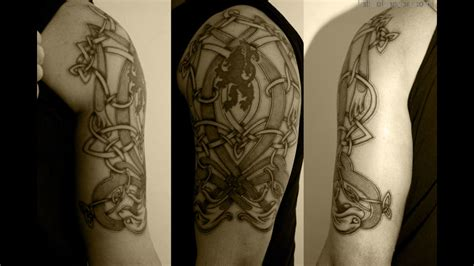 irish sleeve tattoos 53 attractive celtic knot tattoos for your shoulder