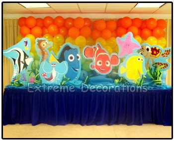 Nemo Decorations decorations for finding cake ideas and designs