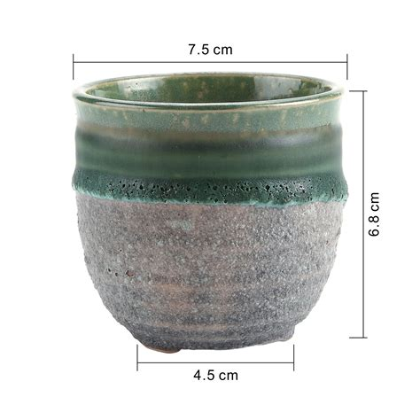 ceramic bonsai pots t4u ceramic succulent plant pots mini flower pot planter