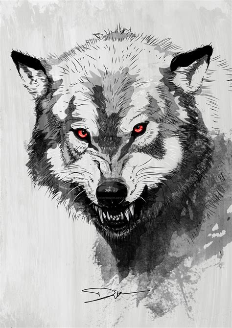 wolf by dik theprince on deviantart