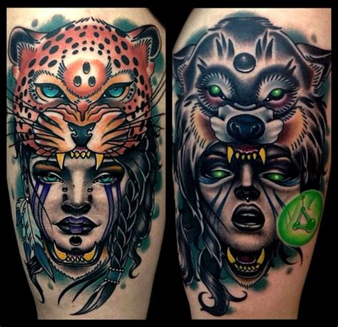 tattoo girl animal head 108 original tattoo ideas for men that are epic