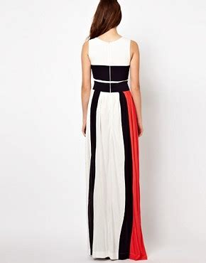 Be Bold With The Creta Dress From Connection by Connection Maxi Dress Bold Block Stripe Medina