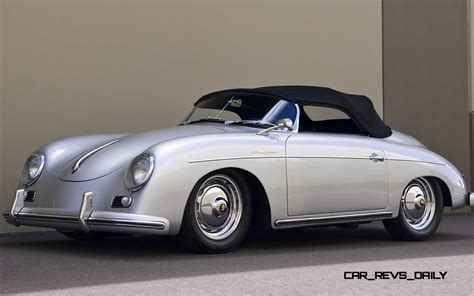 Old Porsche by Porsche 356 Carrera Zagato Speedster