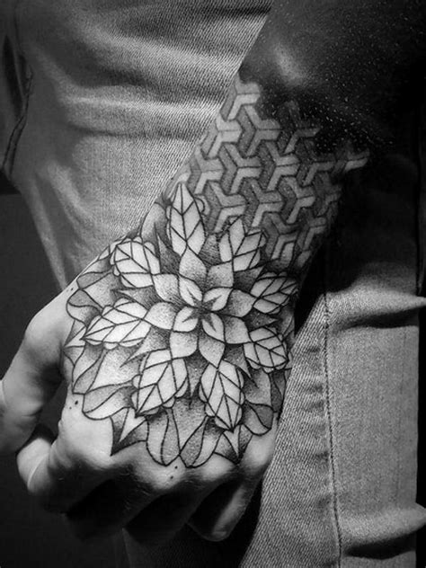 pattern tattoos on hand 55 powerful hand tattoo designs