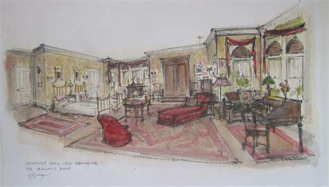 Theater Bedroom by Ventfort Hall Carl Sprague Production Designer For