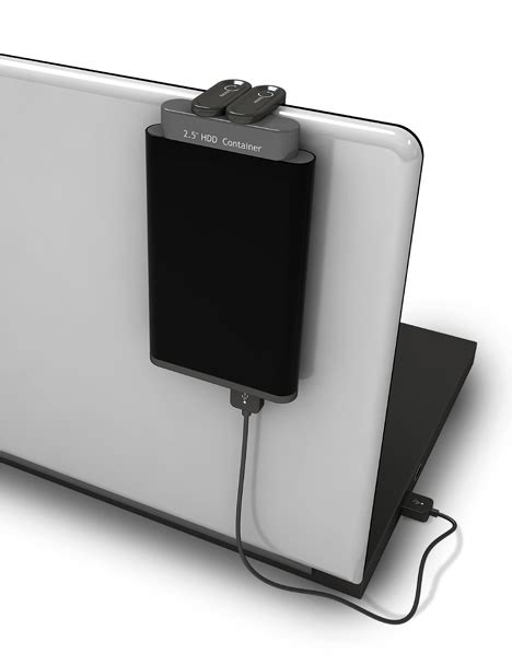 Special Enclosure Leaves Your Hard Drive Hanging | WIRED