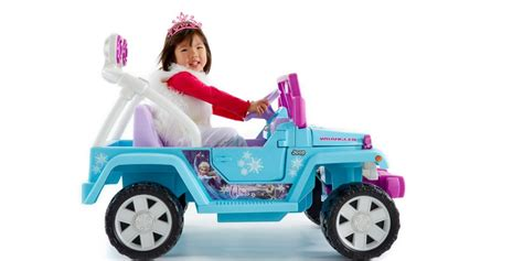 power wheels for girls frozen ride on toys kid battery powered cars for hours