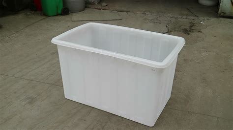 big plastic bathtub 500 liter open top big plastic live stock tank fish tub
