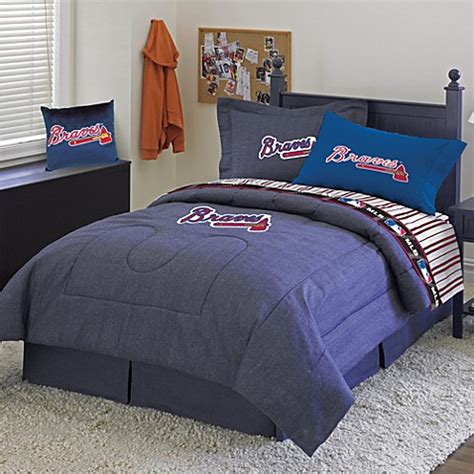 atlanta braves comforter mlb atlanta braves comforter set bed bath beyond