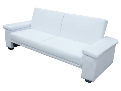 Canape Confortable 396 by Canap 233 Clic Clac Quot Quot 3 Places Blanc Ebay
