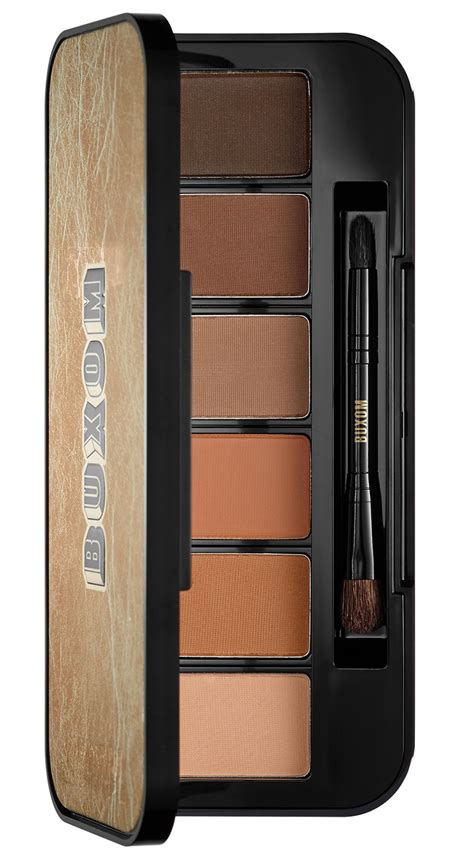 La Colors Matte Eyeshadow Suede all matte all the time with this buxom eyeshadow bar
