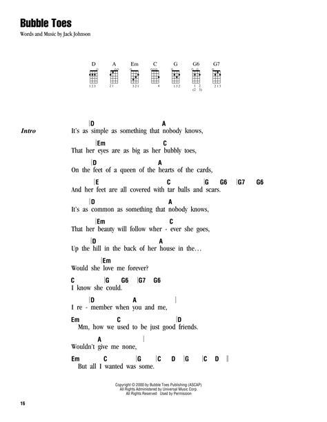 Uke Chords Bubbly / dyrevelferd.info