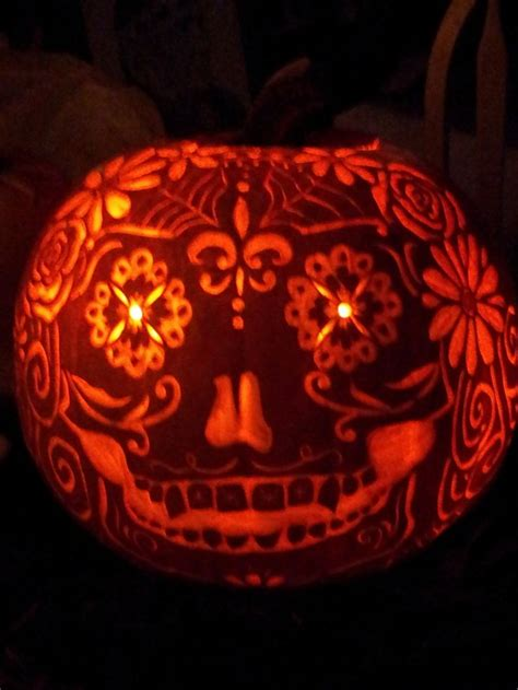 day of the dead pumpkin template 1000 images about dia de los muertos y fusion