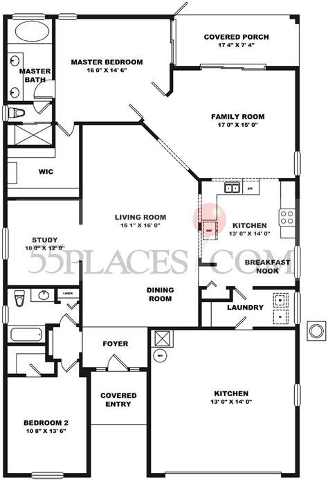 kings ridge clermont fl floor plans st regis floorplan 1975 sq ft kings ridge 55places com