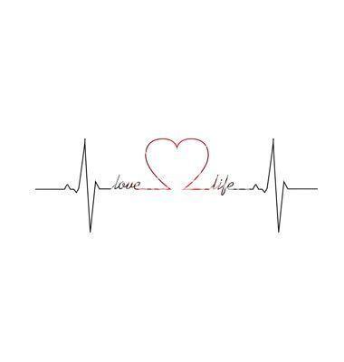 tattoo heartbeat font pin de cute chic en tattoos pinterest vida amorosa