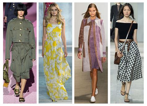 women new spring styles for 2015 4 spring summer 2015 trends from new york fashion week