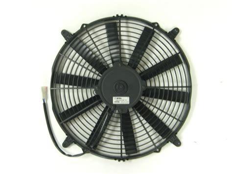 spal 14 electric fan fan spal 14 quot 12v puller ef3547 12v blade
