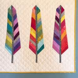 spotted stones a feather quilt