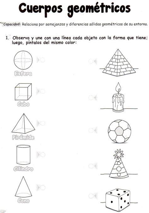 figuras geometricas actividades 17 mejores ideas sobre ejercicios de figuras geometricas