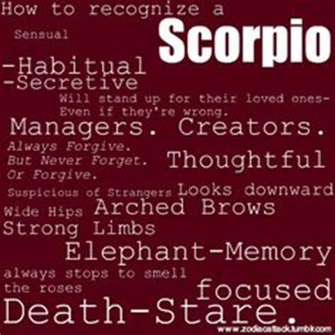 scorpio personality on pinterest scorpio scorpio traits