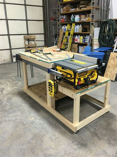 best table saw for woodworking workbench table saw bench wood shop bench