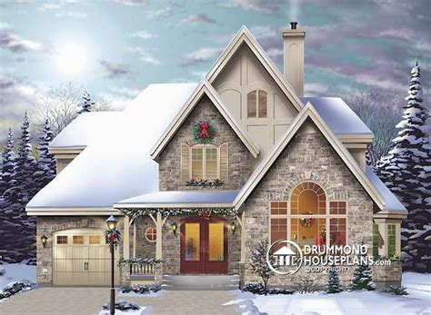 country cottage house plans house plan of the week quot country cottage with a european flair quot drummond house plans