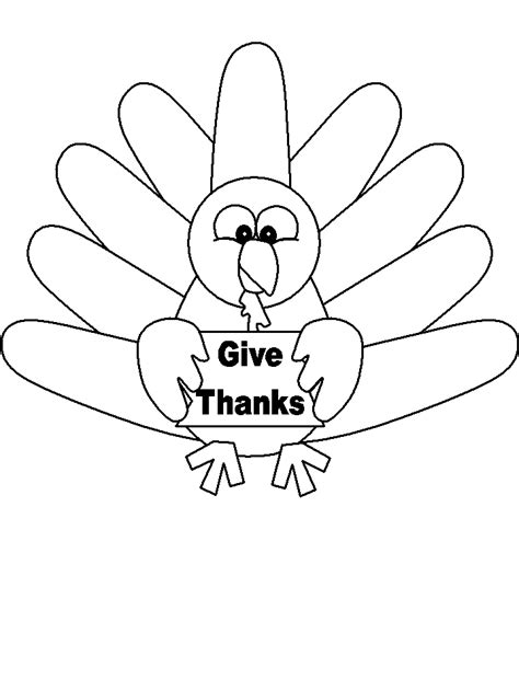 turkey image coloring page turkey coloring pages coloringpages1001 com