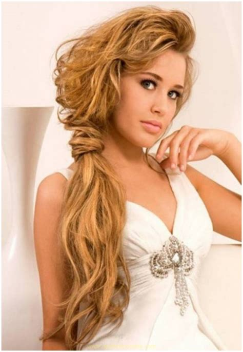 Easy Hairstyles For Medium Length by Prom Hairdos For Medium Length Hair Newfashionelle