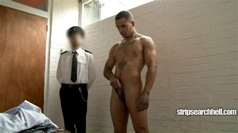 Stripsearchhell Fit Hunky Lad Strip Searched Scallyguy