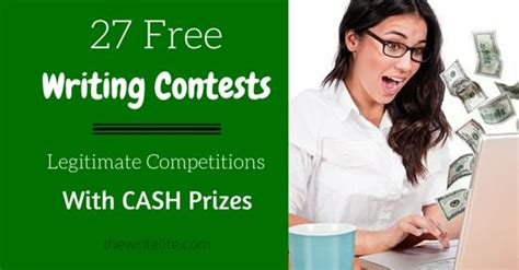 Essay Money Contests by 1000 Ideas About Writing Contests On Writing Prompts Writing And Writers Write