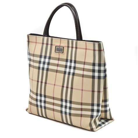 Burberry Tote by Burberry Classic Check Tote Beige Bby131 Bags Of