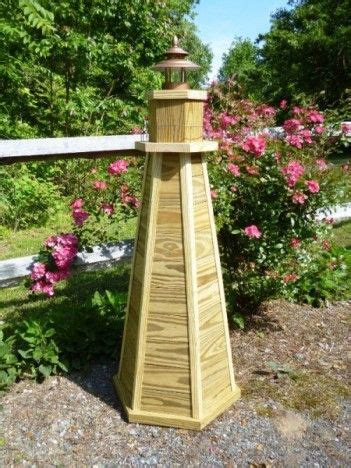 build   ft wooden lawn lighthouse diy wood