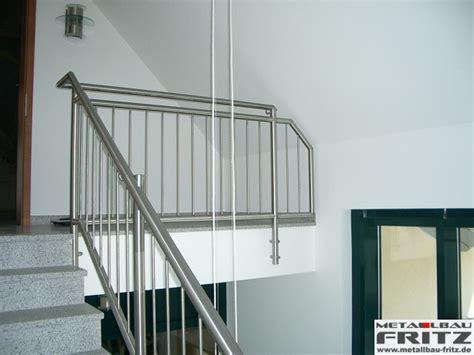 edelstahl treppengeländer innen edelstahl treppengel 228 nder innen 14 02 metallbau fritz