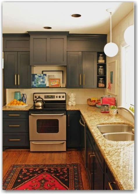 kitchen soffit paint soffits same color as cabinets to make them look taller love the framing too for the