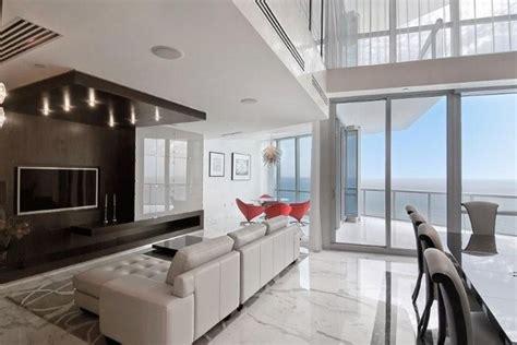 bedroom at luxury waterfront apartment interior design miami luxury condo contemporary living room miami