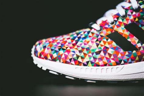 adidas colorful shoes adidas zx flux quot multi color quot available sneakernews