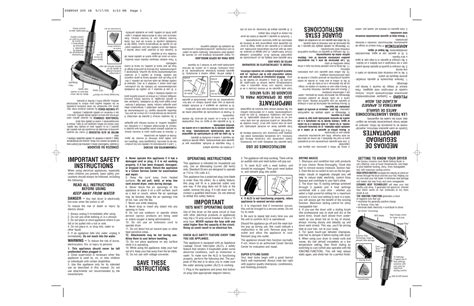 Conair Hair Dryer Owners Manual search conair user manuals manualsonline