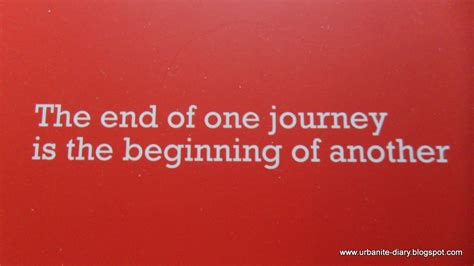 In The Beginning Of The End Of The World the end of one journey is the beginning of another sassy urbanite s diary