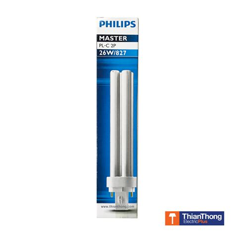 Lu Philips Pl C 2p philips หลอดตะเก ยบ ฟ ล ปส มาสเตอร master pl c 2p 26w