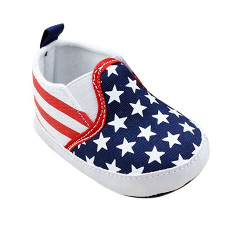 Crib Shoes For Boys by Toddler Crib Shoes Boys Us Flag Baby Shoes Soft