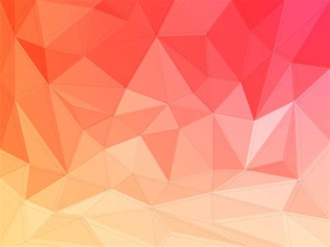 Modern Yellow by Abstract Polygonal Background Creative Geometric