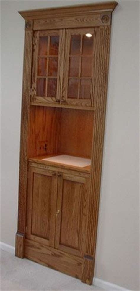 Niche Cabinets by Made Solid Oak Niche Cabinet By Five Points Custom