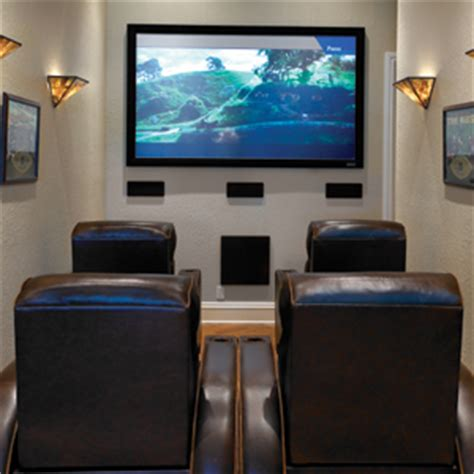 Small Apartment Home Theater Theater Squeezes Into 8 Wide Room Avs Forum Home