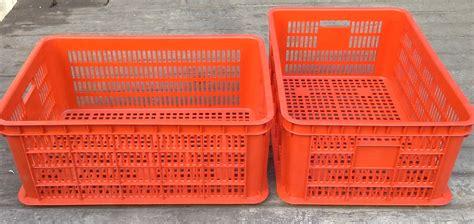 Jual Keranjang Buah Plastik Surabaya jual keranjang plastik multi fungsi industri krat jl merah 62 x 42 x tinggi 25 cm harga murah
