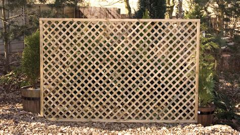 Exterior Landscaping by Elite Lattice Earnshaws Fencing Centres
