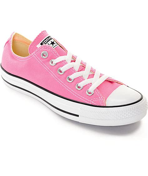 Converse All Pink Low converse chuck all low pink shoes