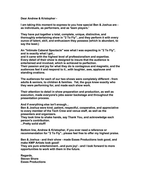 New York College Letters Of Recommendation Requirements letters of recommendation 2 ring circus a circus