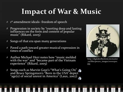 what effect did the 1960s have on todays 60 year olds music and the vietnam war